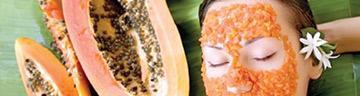 papaya make up, papaya for beauty culture
