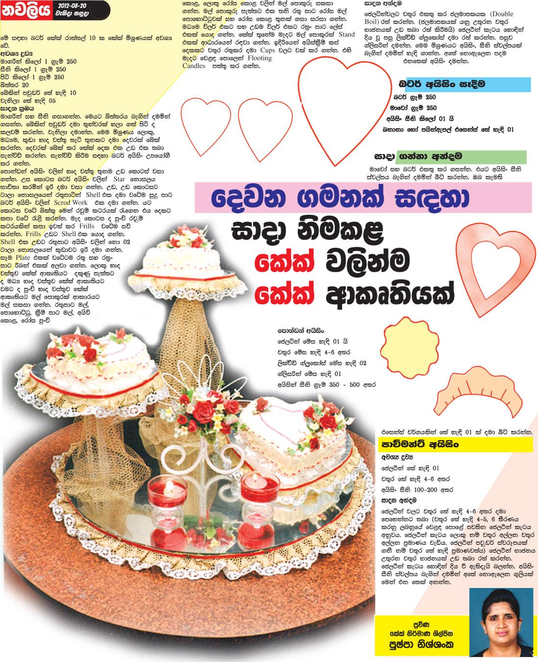Wedding cake menu sinhala 5000 simple wedding cakes how forumfinder Choice Image