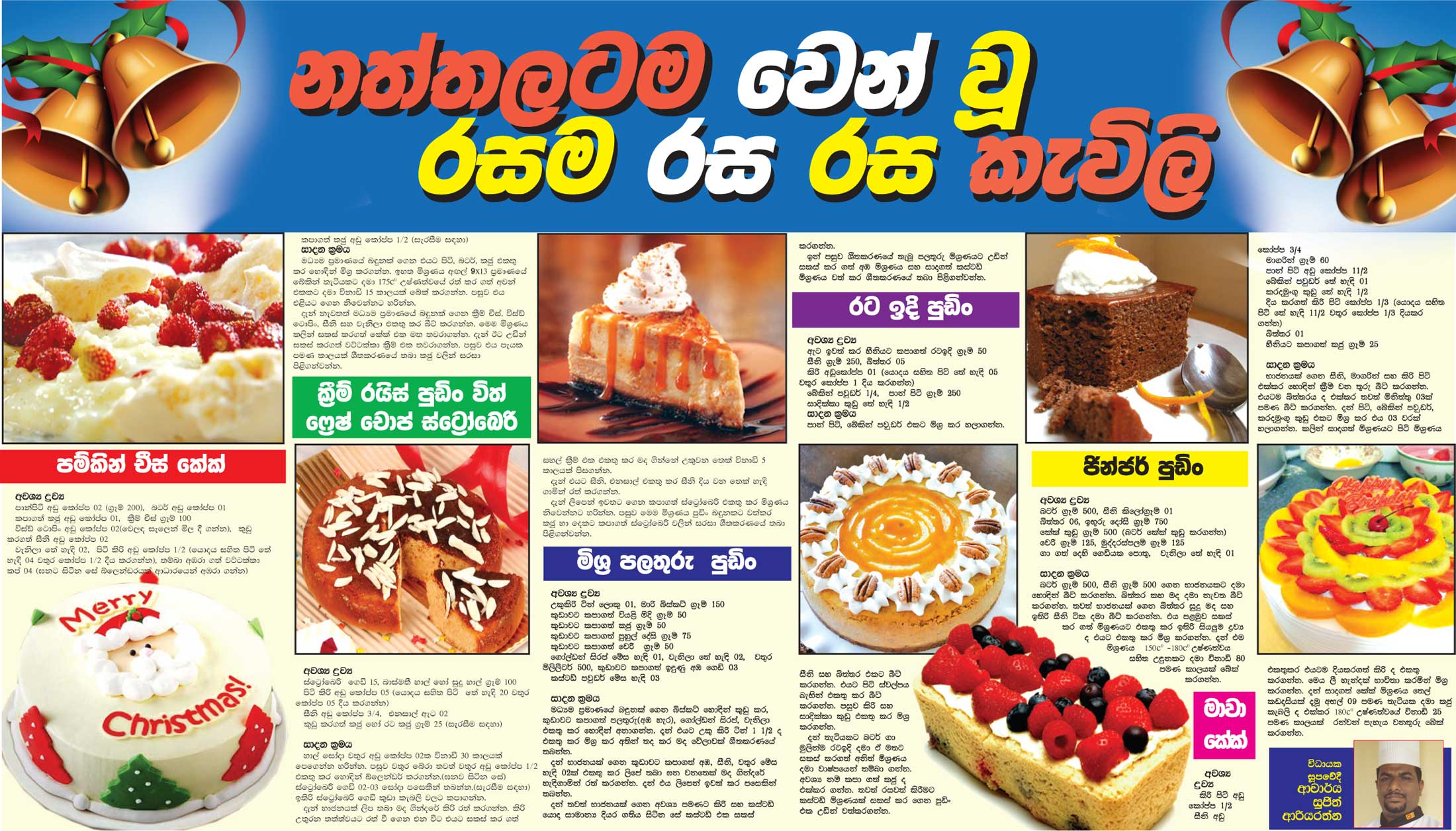 Christmas cake recipes in sinhala christmas food news recipes christmas cake recipes in sinhala forumfinder Choice Image