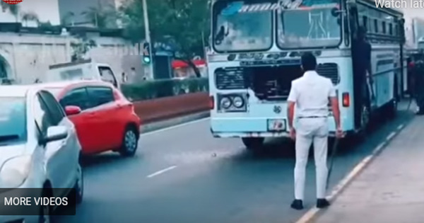 Video Footage Of Car Driver With Hockey Stick Challenging Bus Driver